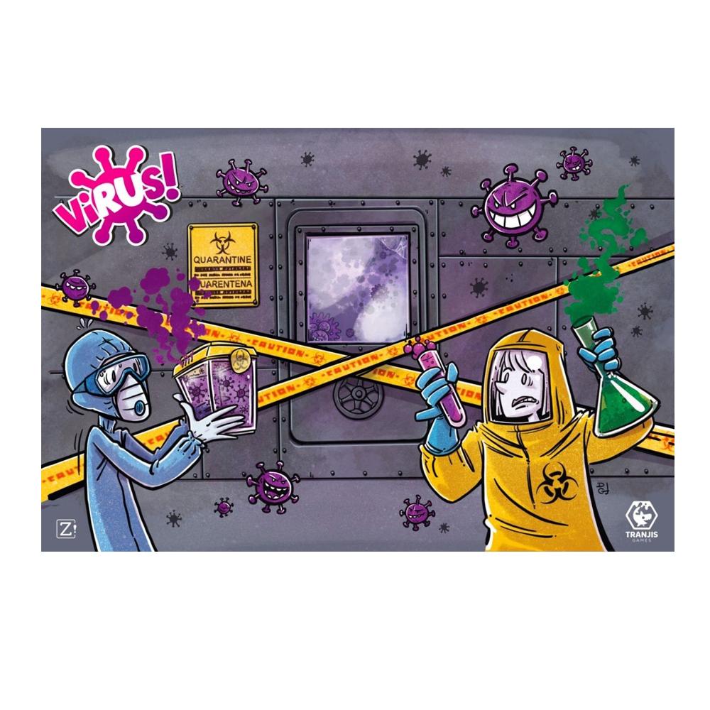 Cuy Games - TAPETE NEOPRENO VIRUS -