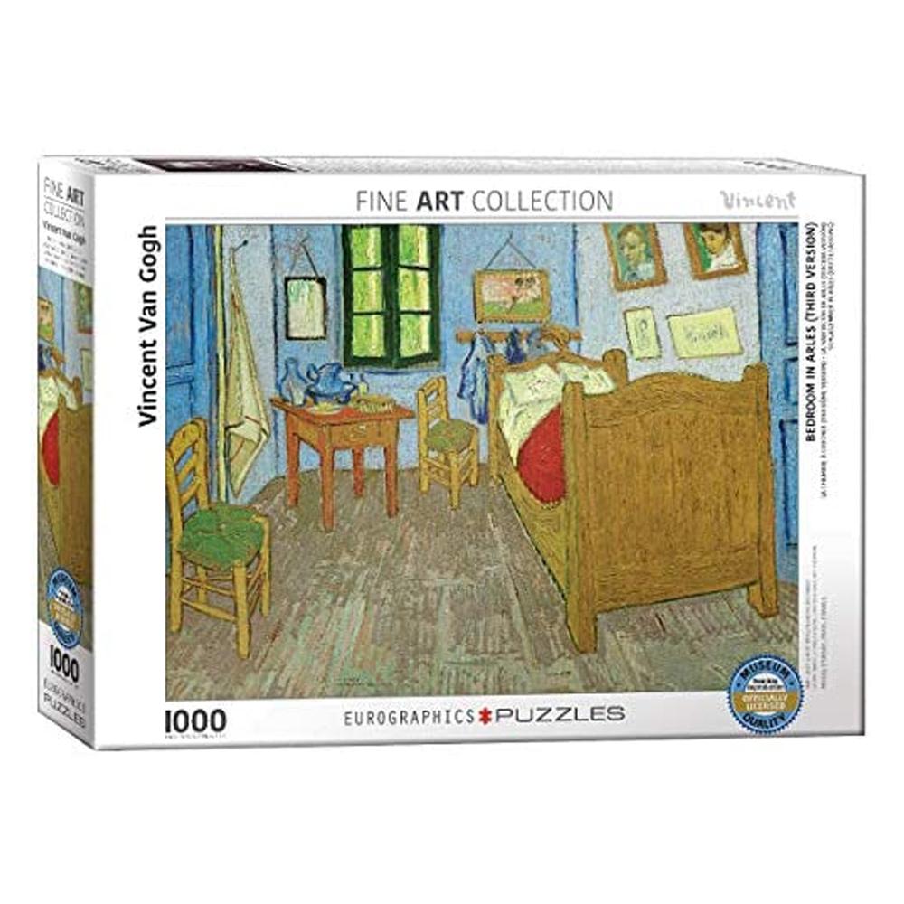 Cuy Games - 1000 PIEZAS - VAN GOGH - BEDROOM AT ARLES -