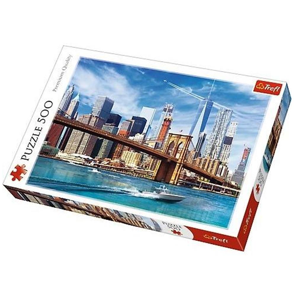 Cuy Games - 500 PIEZAS - VISTA DE NEW YORK -