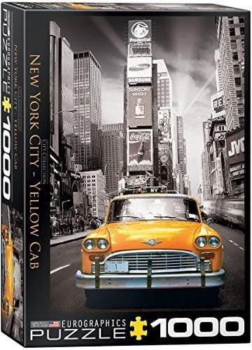 Cuy Games - 1000 PIEZAS - NEW YORK CITY - YELLOW CAB -