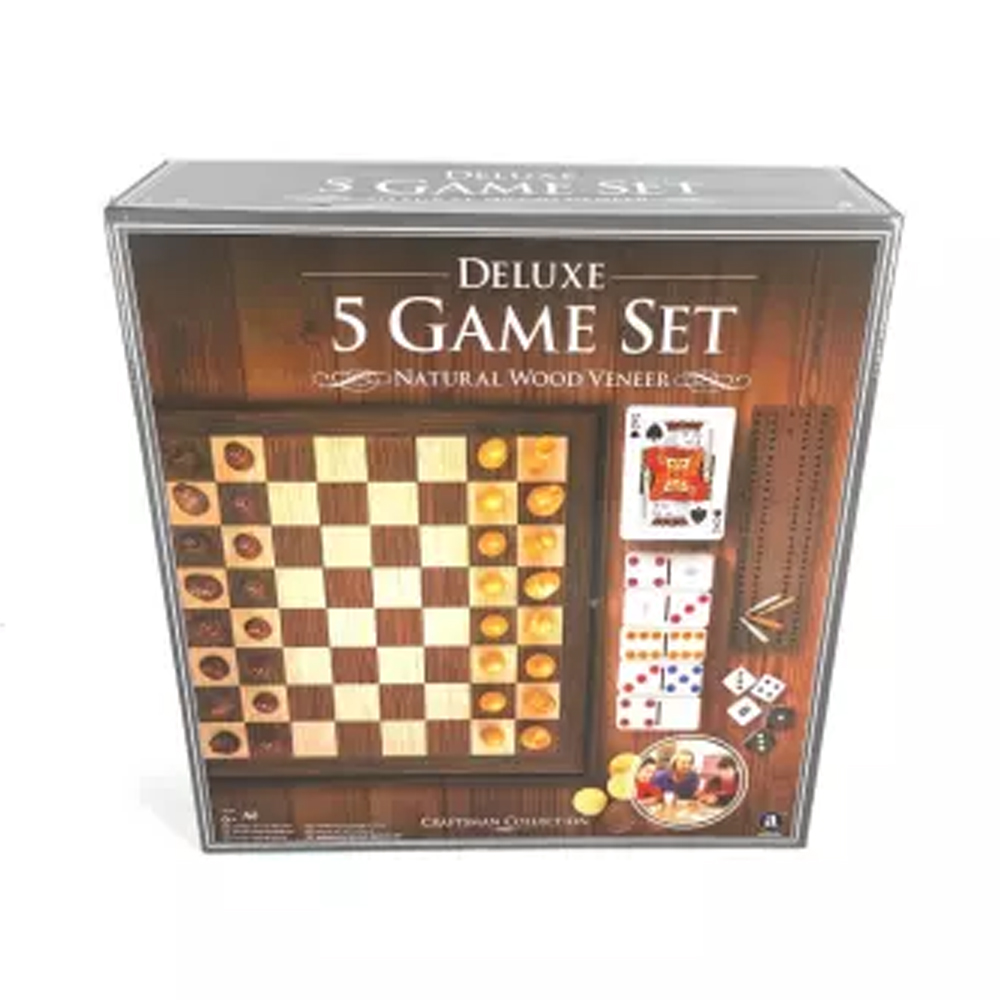 Cuy Games - 5 GAME SET DELUXE -