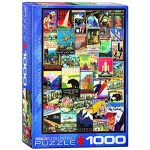 Cuy Games - 1000 PIEZAS - Vintage Ads - Travel US -