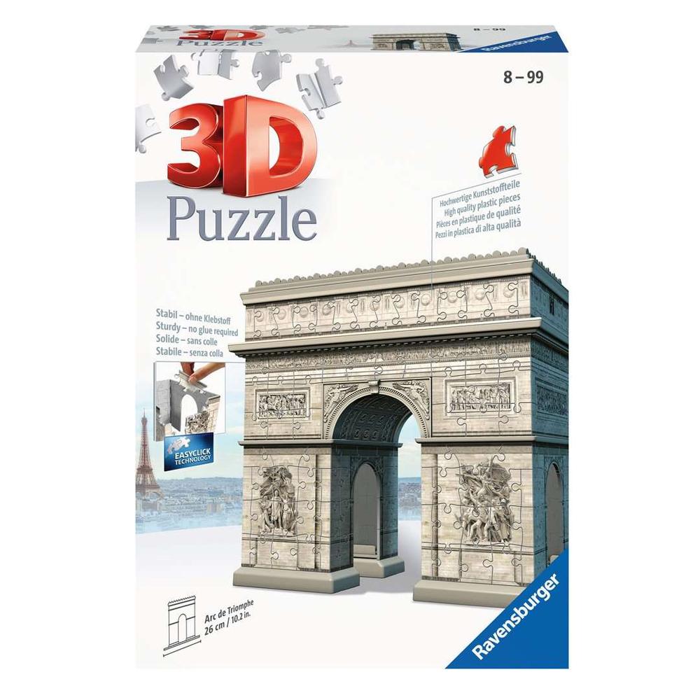 Cuy Games - 241 PIEZAS - ARC DE TRIOMPHE 3D -