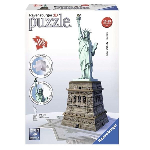 118 PIEZAS – STATUE OF LIBERTY 3D