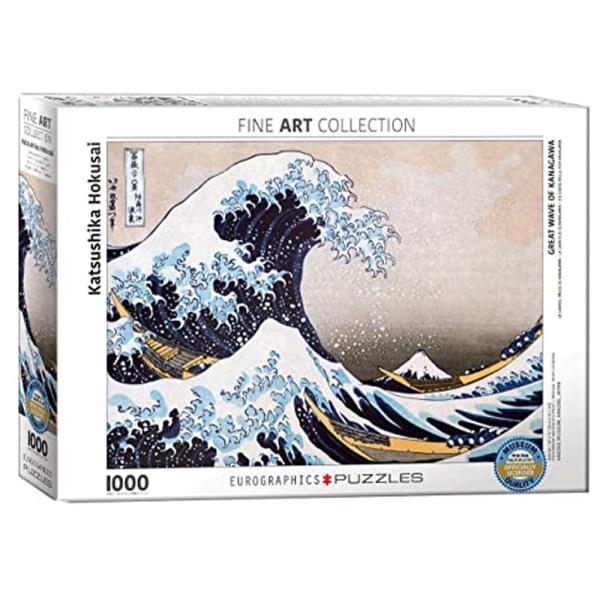 1000 PIEZAS – Hokusai – Great  Wave Kanagawa