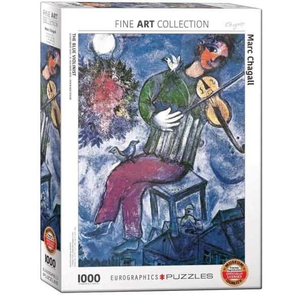 1000 PIEZAS – Chagall – Le Violoniste Bleu