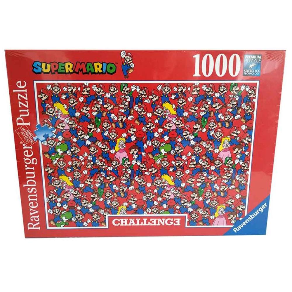 Cuy Games - 1000 PIEZAS - SUPER MARIO CHALLENGE -