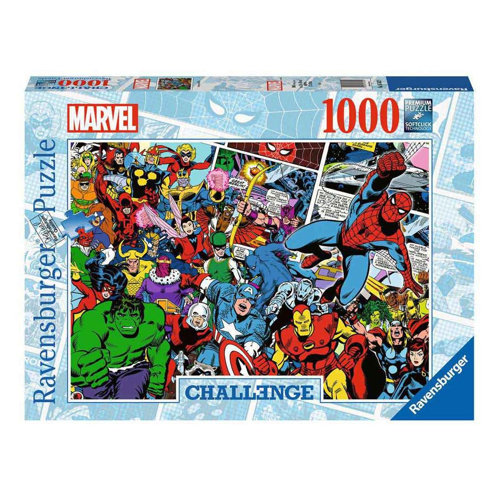 Cuy Games - 1000 PIEZAS - CHALLENGE MARVEL -