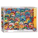 Cuy Games - 1000 PIEZAS - Mexican Ceramic Plates -