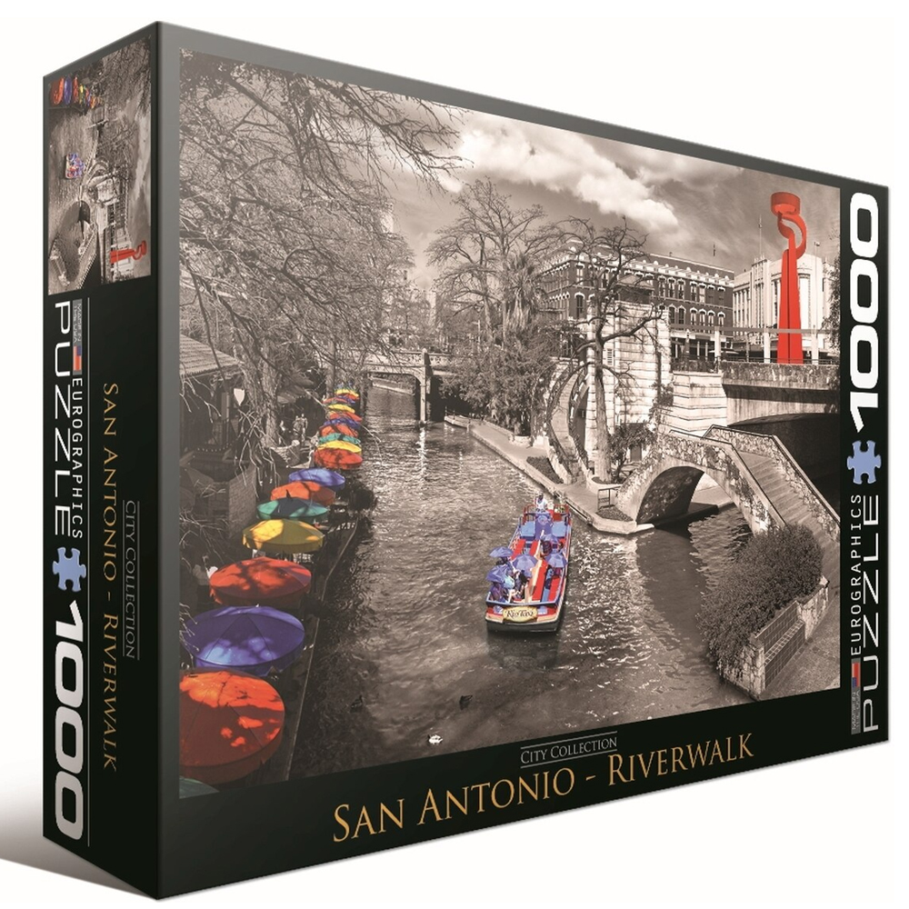 Cuy Games - 1000 PIEZAS - San Antonio River Walk -