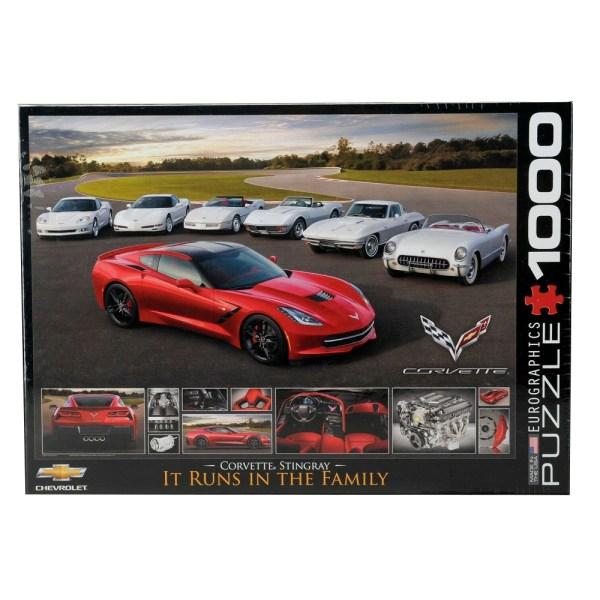 1000 PIEZAS – Corvette  2014  Stingray