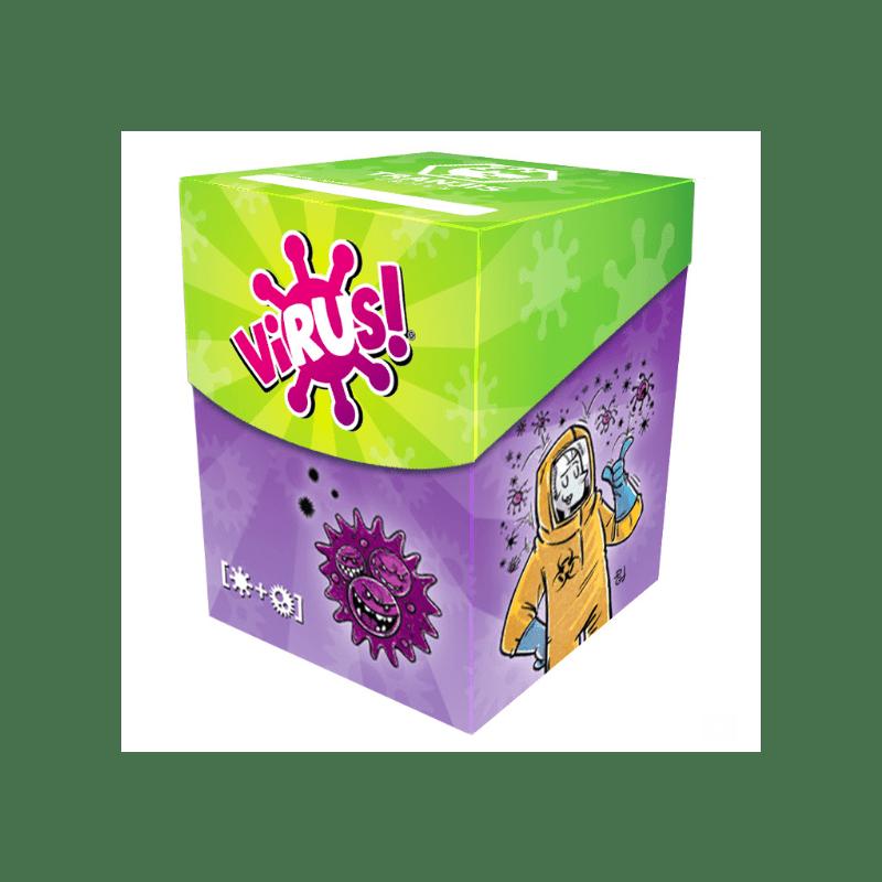 Cuy Games - VIRUS DECKBOX (CAJA PARA CARTAS VIRUS) -