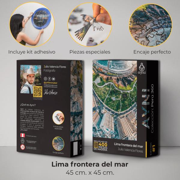 400 PIEZAS – LIMA FRONTERA DEL MAR