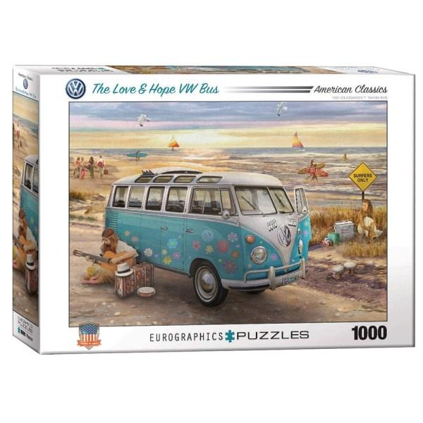 1000 PIEZAS – Giordano – VW Bus Love & Hope
