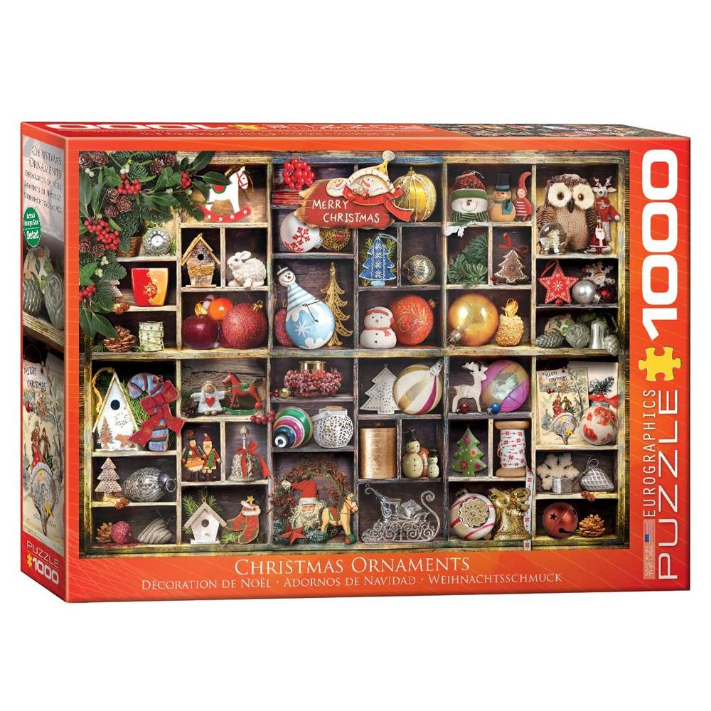 Cuy Games - 1000 PIEZAS - Christmas Ornaments -