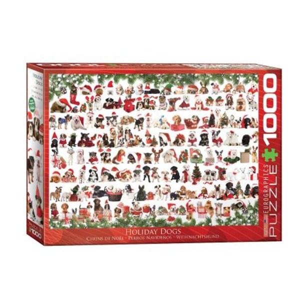 Cuy Games - 1000 PIEZAS - Christmas Puppies -