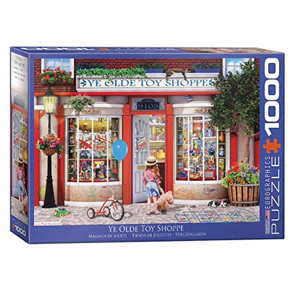 Cuy Games - 1000 PIEZAS - Ye Old Toy Shoppe by Paul Norm -
