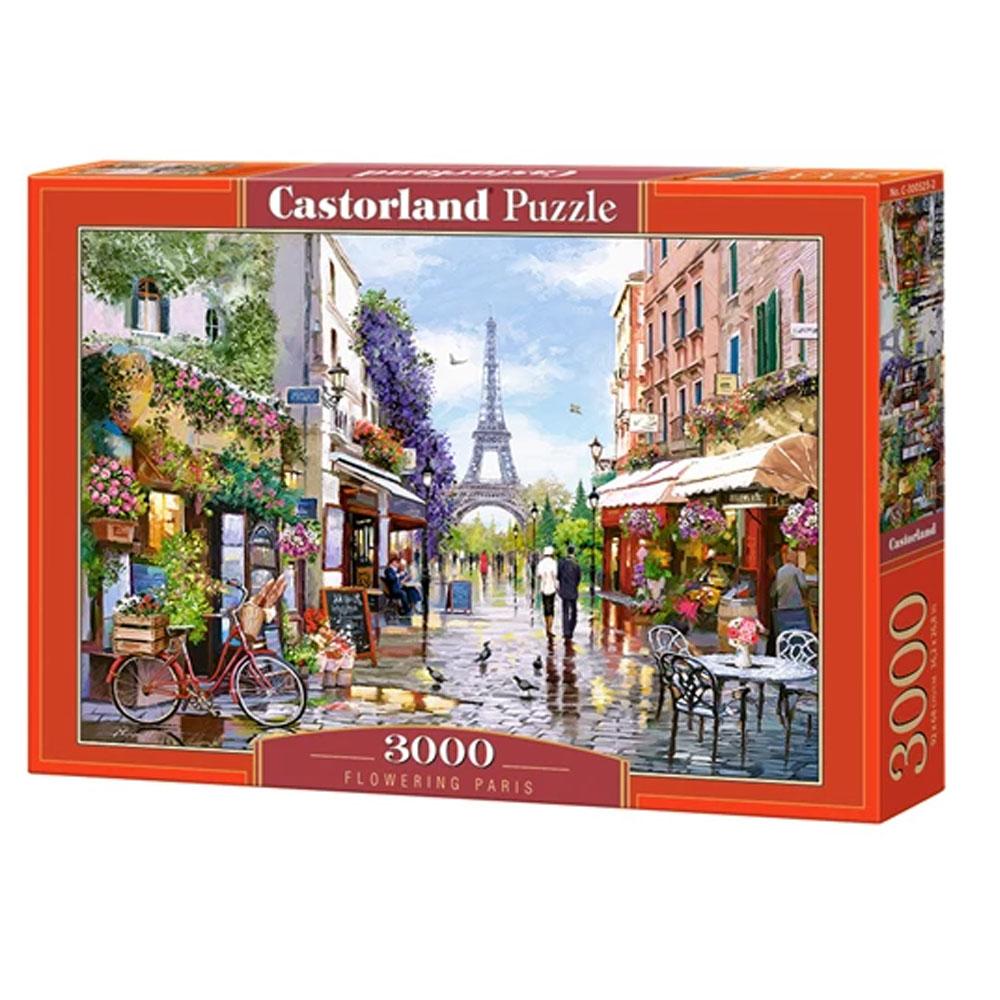 Cuy Games - 3000 PIEZAS - FLOWERING IN PARIS -