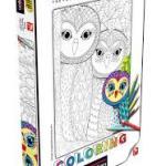 Cuy Games - 260 PIEZAS - OWLS FAMILY - COLORING -