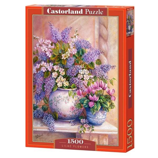Cuy Games - 1500 PIEZAS - LILAC FLOWERS -