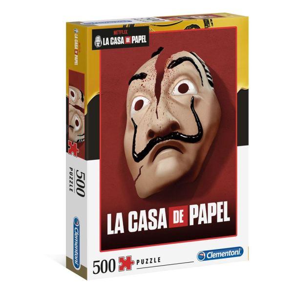 500 PIEZAS – LA CASA DE PAPEL MASCARA