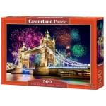 Cuy Games - 500 PIEZAS - TOWER BRIDGE, LONDON/LONDRES, ENGLAND -