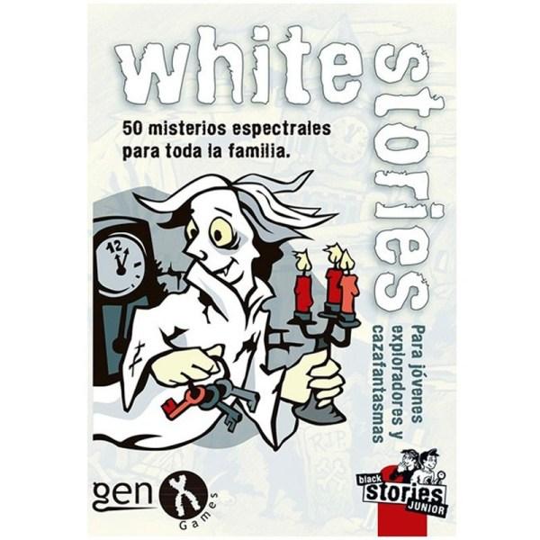 WHITE STORIES EDICION PARA JOVENES EXPLORADORES Y CAZAFANTASMAS