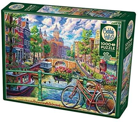 Cuy Games - 1000 PIEZAS - AMSTERDAM CANAL -