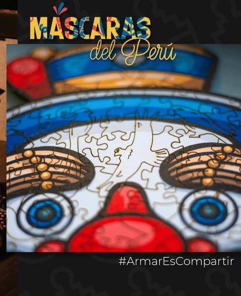150 PIEZAS – NEGRITO DE HUANUCO – MASCARAS DEL PERU