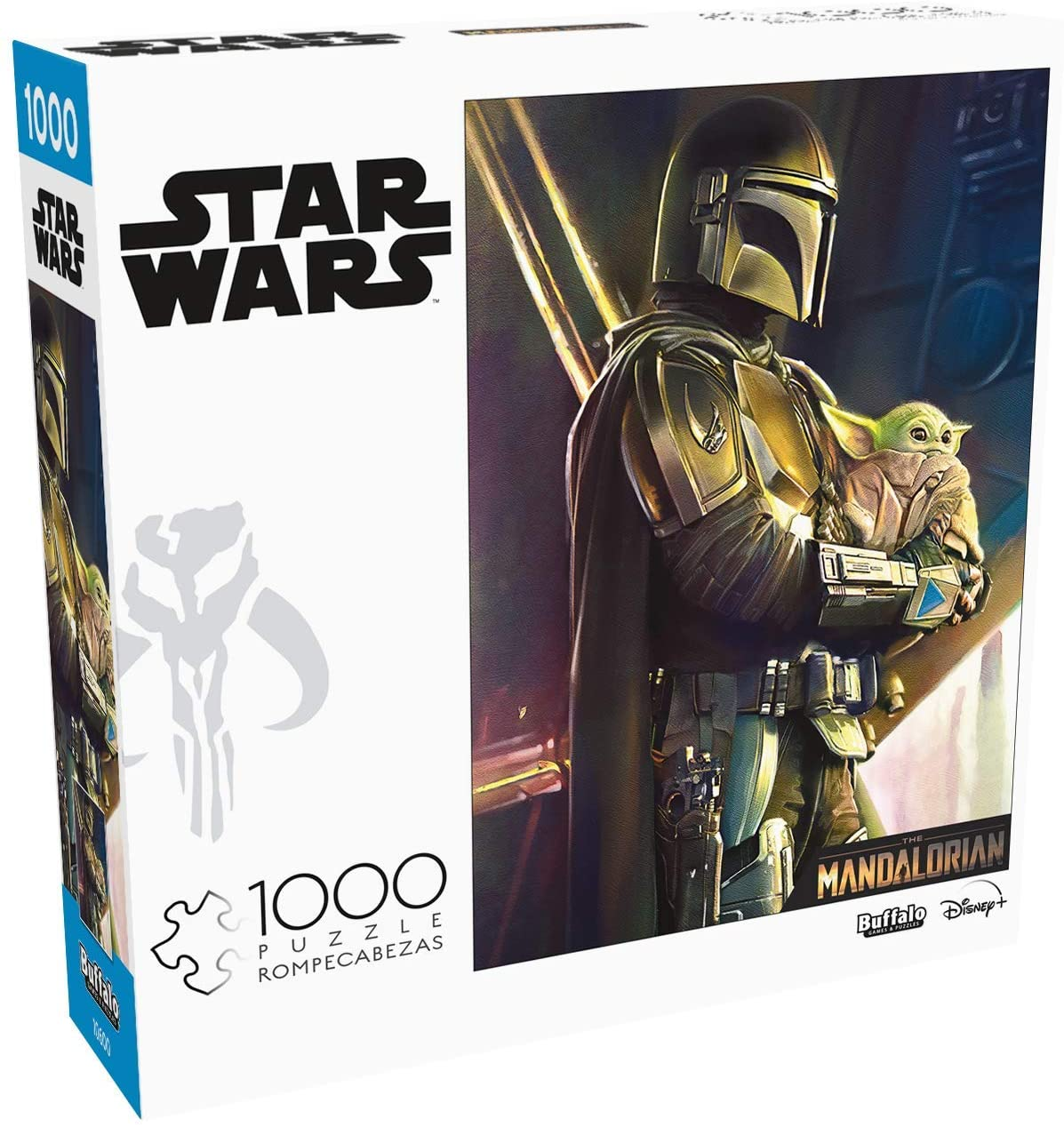 Cuy Games - 1000 PIEZAS - THE MANDALORIAN, WHEREVER I GO, HE GOES -