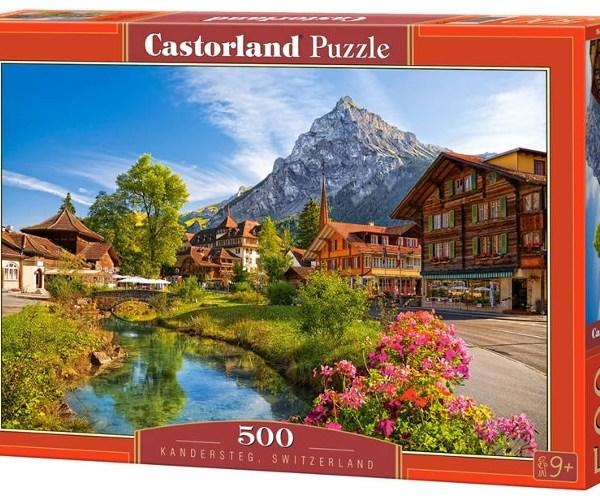 500 PIEZAS – KANDERSTEG. SWIZERLAND