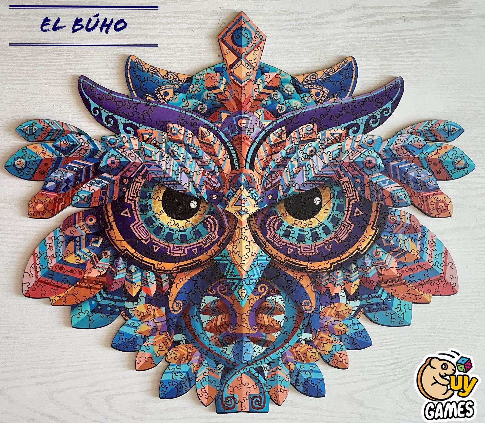 Cuy Games - 500 PIEZAS - EL BUHO -