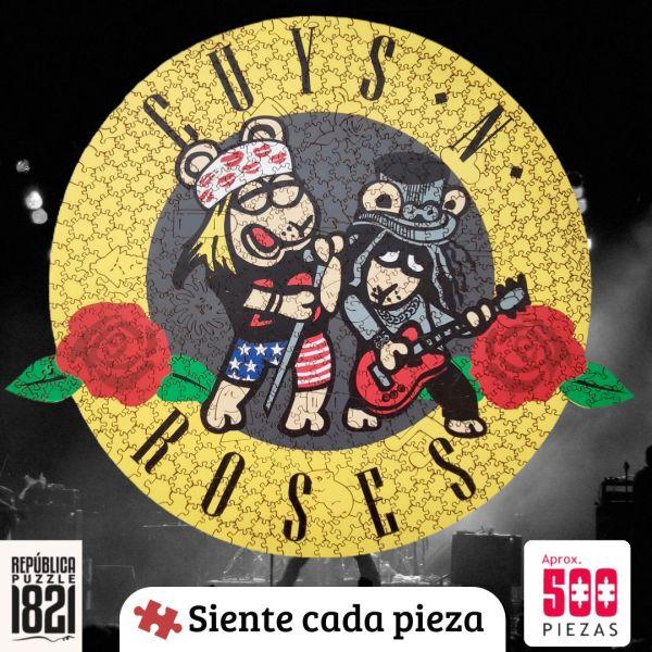 Cuy Games - 500 PIEZAS - CUY AND ROSES -