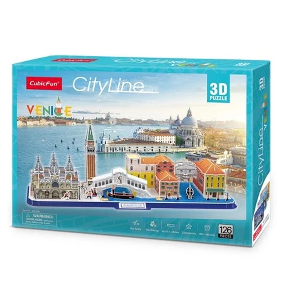 Cuy Games - CF - 126 PIEZAS - VENICE 3D (CITYLINE) -