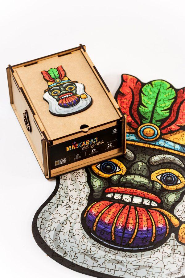 Cuy Games - 400 PIEZAS - MORENADA - MASCARAS DEL PERU -