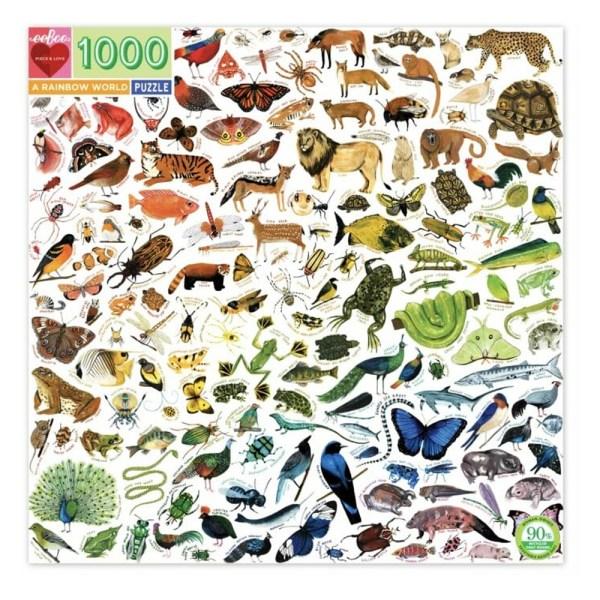 1000 PIEZAS – A RAINBOW WORLD
