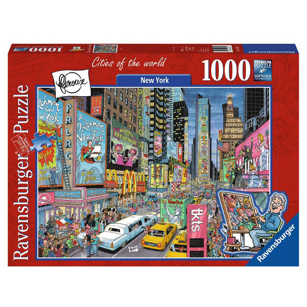 Cuy Games - 1000 PIEZAS - CITY OF THE WORLD - NEW YORK -