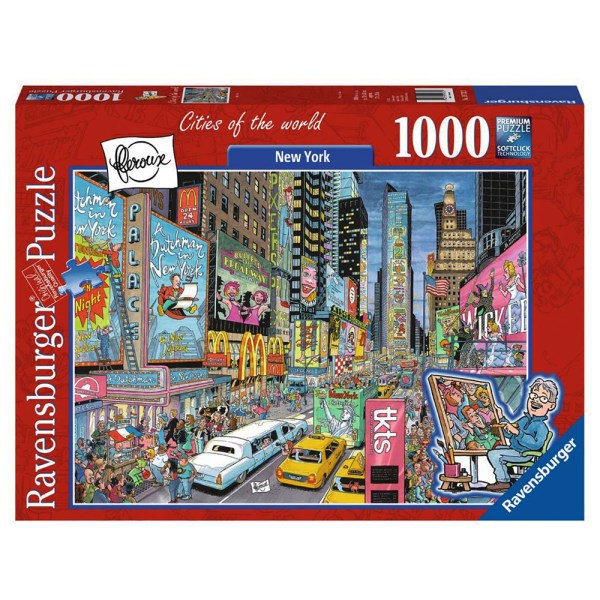 1000 PIEZAS – CITY OF THE WORLD – NEW YORK