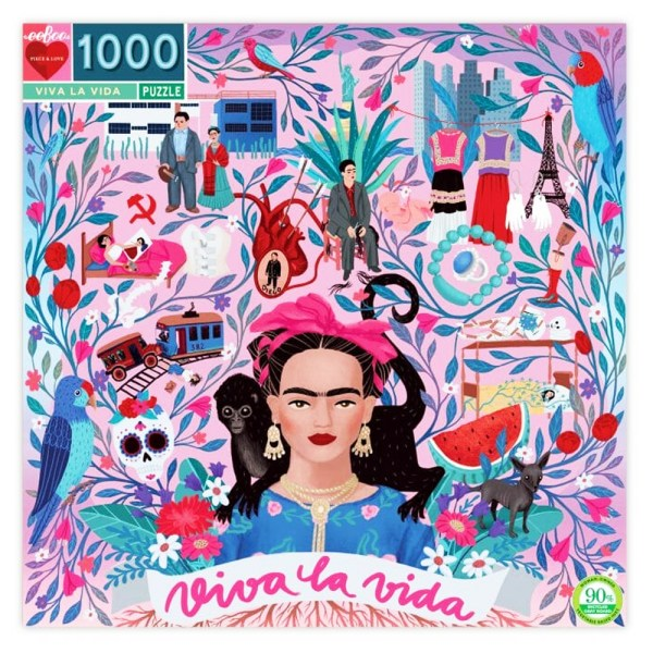 Cuy Games - 1000 PIEZAS - VIVA LA VIDA -