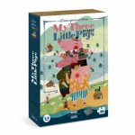 Cuy Games - 36 PIEZAS - MY THREE LITTLE PIGS -