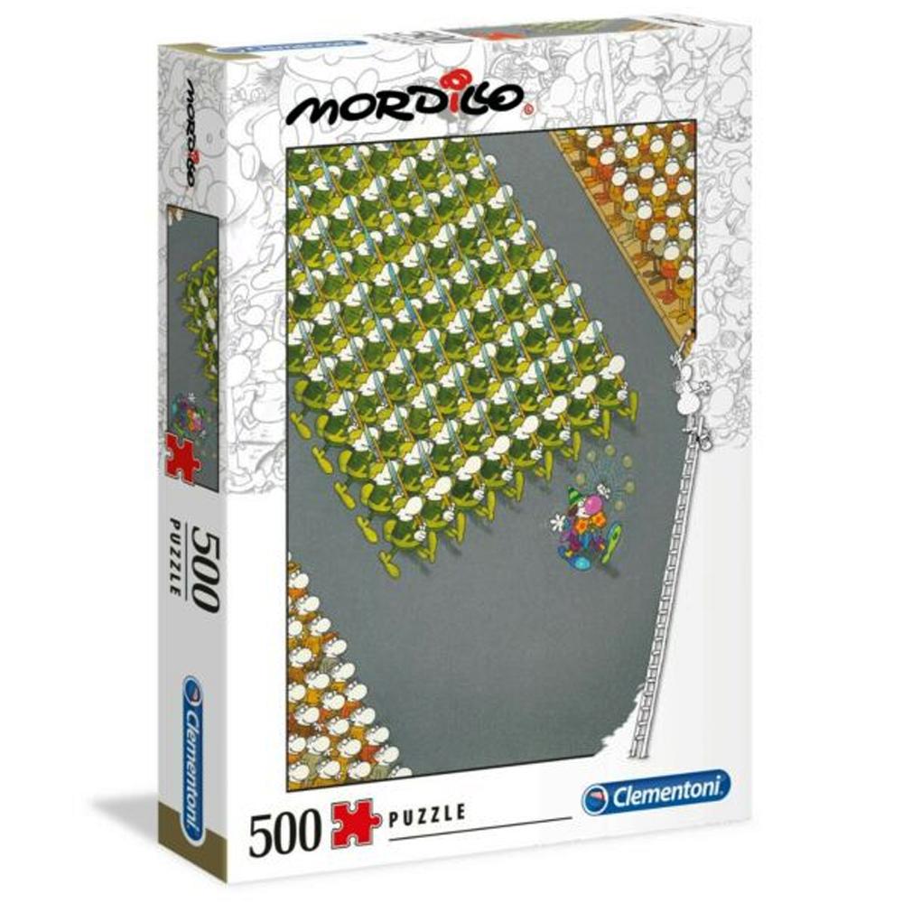 Cuy Games - 500 PIEZAS - LA MARCHA, MORDILLO -