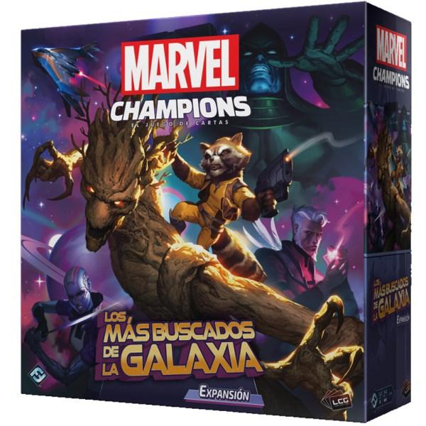 Cuy Games - MARVEL CHAMPIONS EXP. LOS MAS BUSCADOS DE LA GALAXIA -