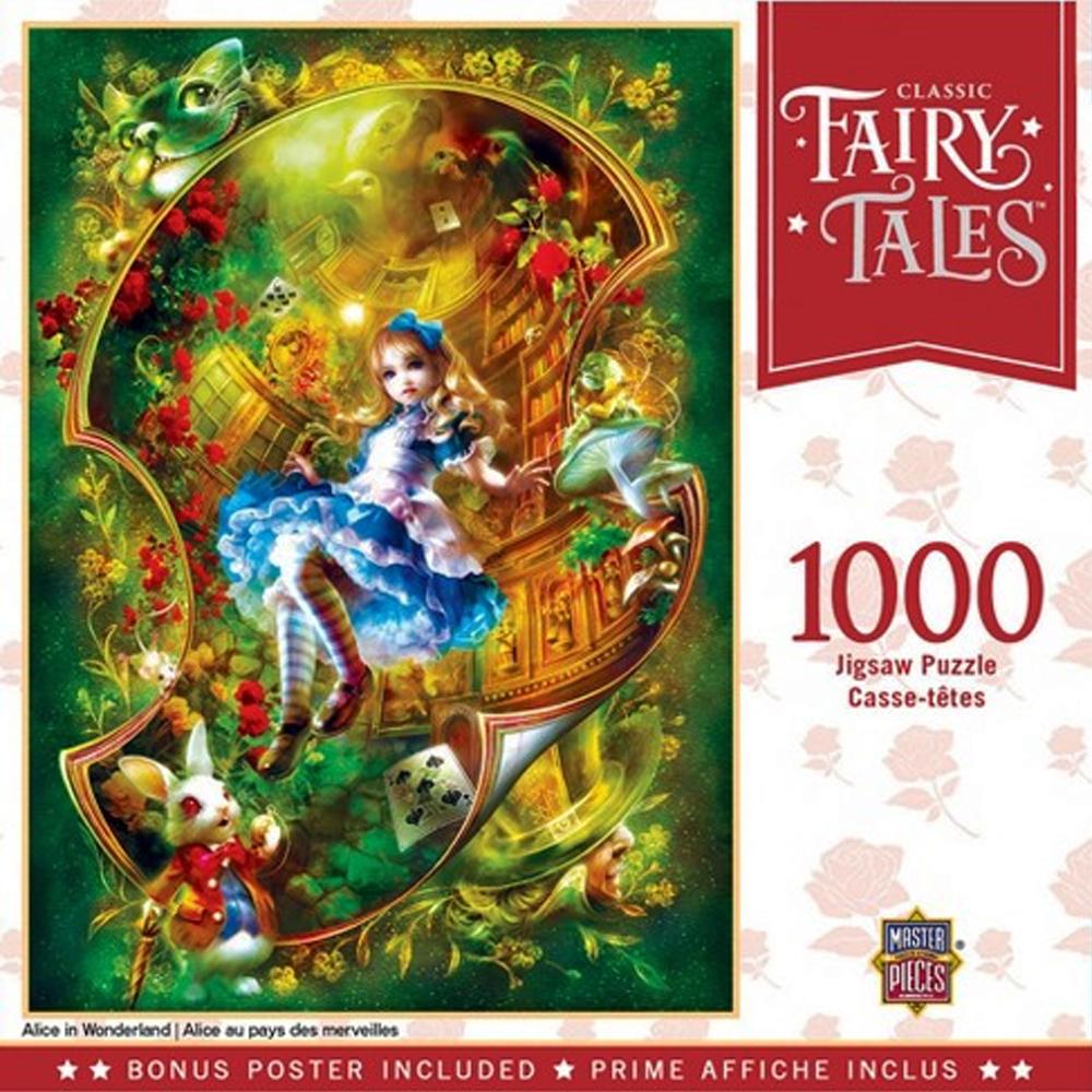 Cuy Games - 1000 PIEZAS - ALICE IN WONDERLAND -