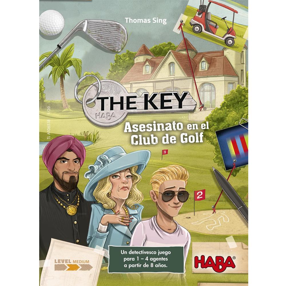Cuy Games - THE KEY: ASESINATO EN EL CLUB GOLF -