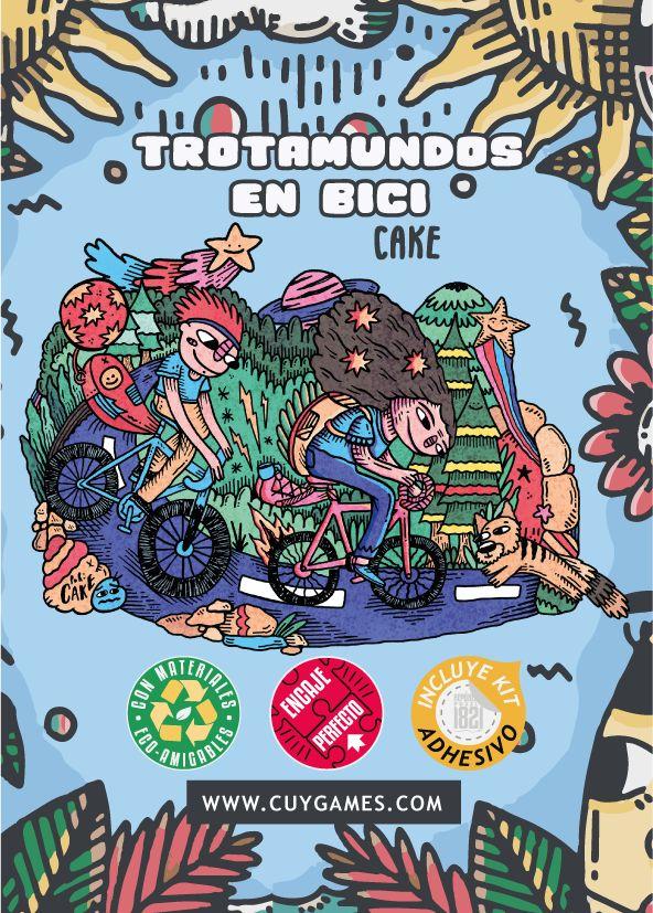 Cuy Games - 500 PIEZAS - TROTAMUNDOS EN BICI BY CAKE -