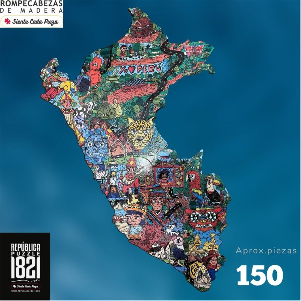 150 PIEZAS – EL PERU BY CAKE