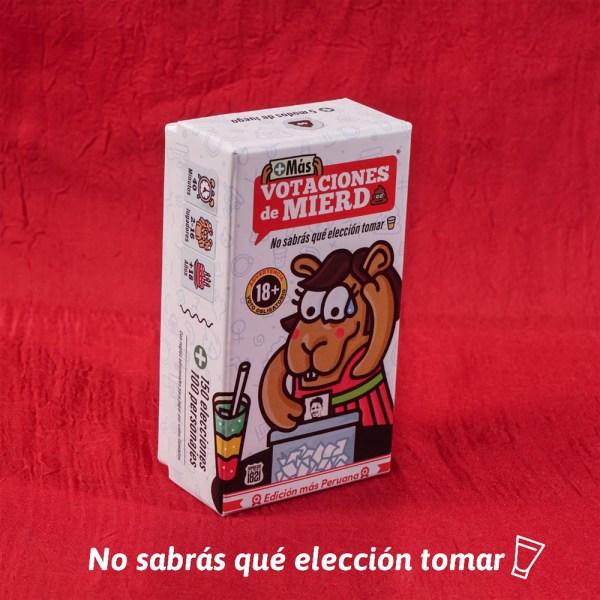 MAS VOTACIONES DE MIERDA – BLANCO