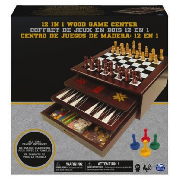 12 EN 1 GAME CENTER