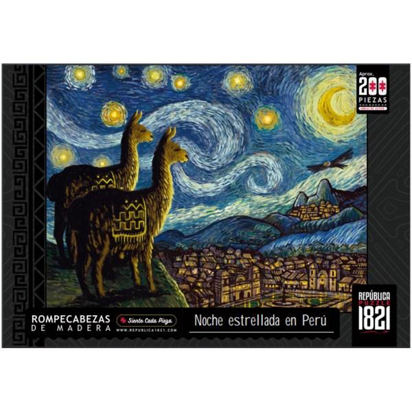 Cuy Games - 200 PIEZAS - NOCHE ESTRELLADA EN PERU -