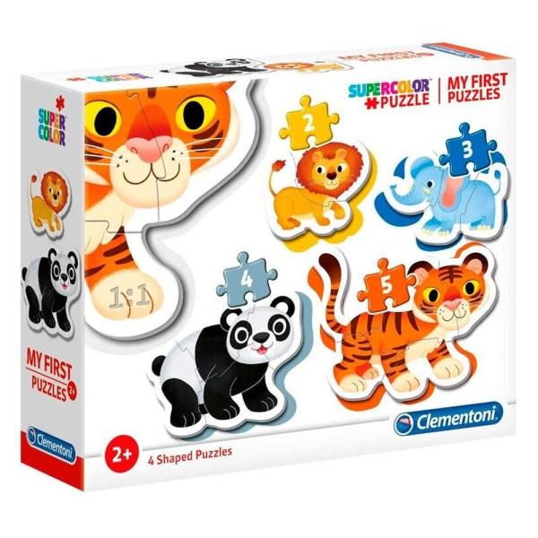 Cuy Games - INFANTIL - MI PRIMER PUZZLE - ANIMALES -
